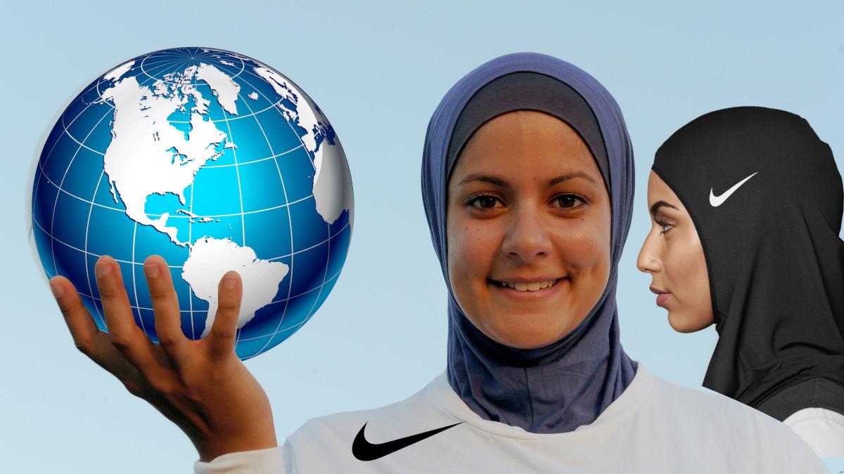 headscarf sport