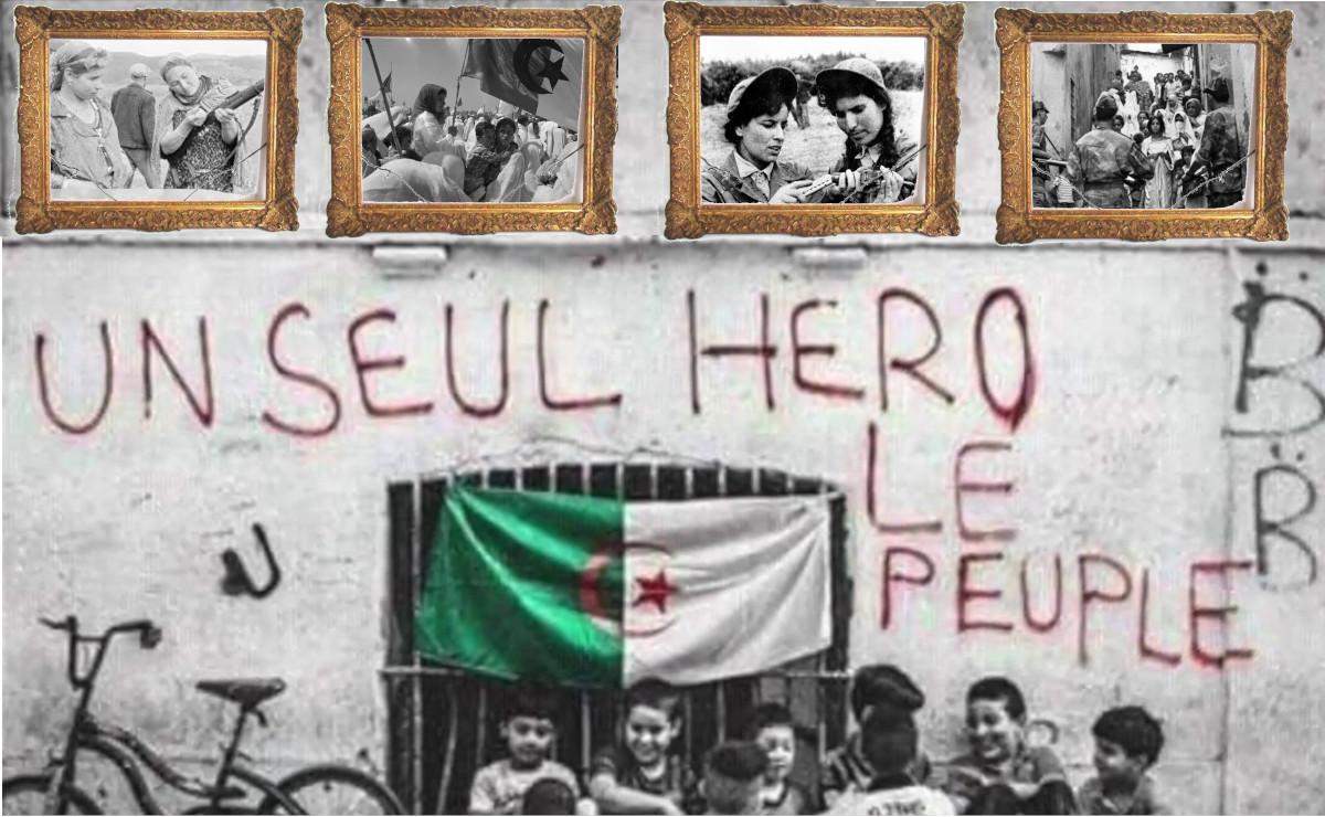 algérien femmes liberte war