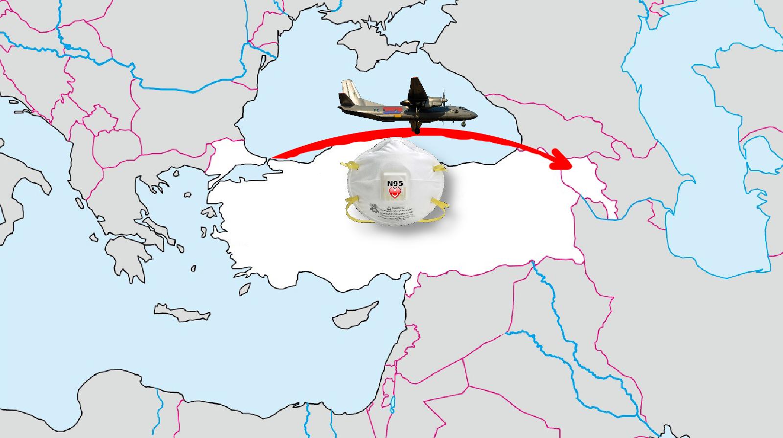 turkey armenia n95 covid