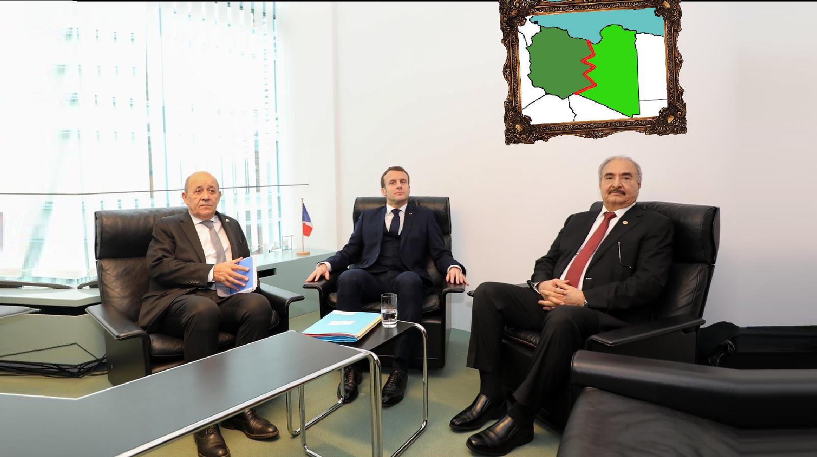 Libya hafter macron